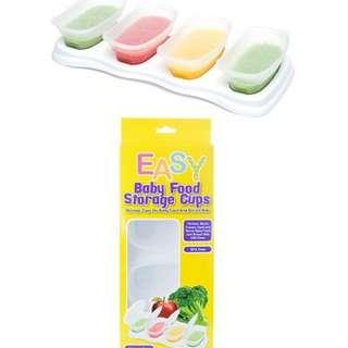 Easy Breastmilk & Baby Food Storage Cups (4oz)