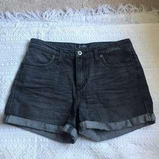 Bardot Black Wash Denim Shorts