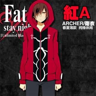 🚚 🉐 Fate/Stay Night Archer Emiya Shirou Jacket Hoodie Sweatshirt (In-stock)