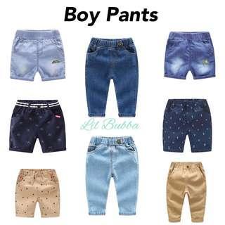 [Ready Stock] Boy Pants/ Boy Shorts/ Kids Pants/ Denim Pants/ Denim Shorts