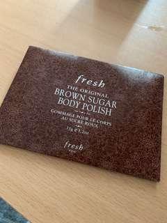 Fresh 35g Brown Sugar Body Polish Package