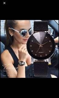 🚚 Cheap valentine's Day gift  Black Woman's watch