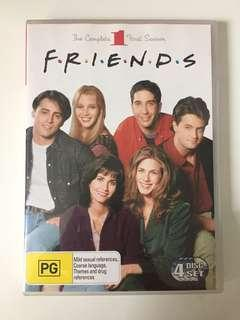 Friends: The Complete First Season DVD 4-Disc Set