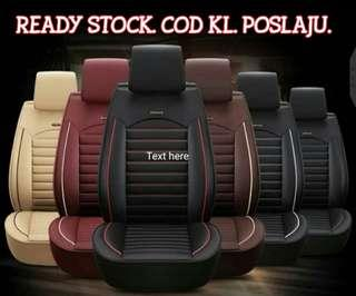 Ready stock. 5 seaters pvc leather car seats cover