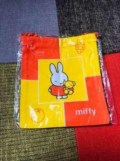Miffy 米飛 索繩袋 tobe bag
