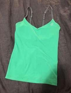 Green Lorna Jane sports top