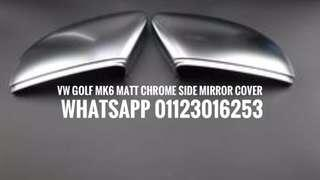 Volkswagen Golf MK6 Chrome Side Mirror Cover