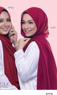Tudung People NLUXE ruby