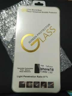 🚚 BN Iphone 7/8 Tempered Glass Screen Protector