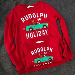 🚚 H&M Rudolph on Holiday Matching Boys L/S