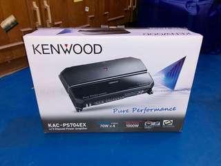 Kenwood 1000w 4 channel power amplifier KAC-PS704EX