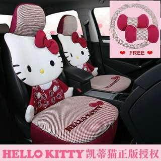 Hello Kitty 5 seaters car seats cover