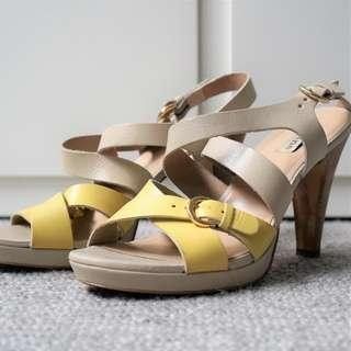 Dune London leather sandals