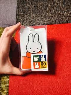 Miffy 米飛 travelling tag case 行李牌