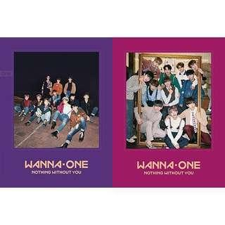 [URGENTLY LF] Wanna One Nothing Without You Items