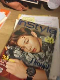 kang daniel wannaone magazine