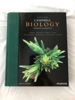 Campbell biology text book