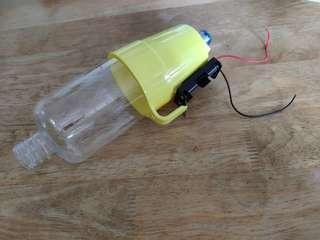 Handmade vacuum cleaner for desk