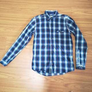 Mens Blue Shirts Casual