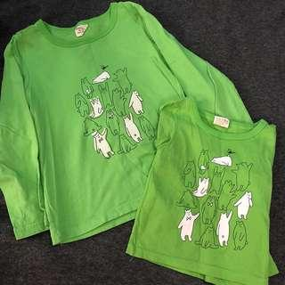 🚚 Matching Green Boys L/S