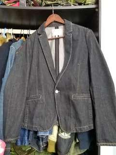 Vintage denim 5 cm jacket