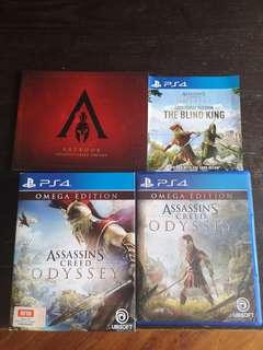 🚚 PS4 Assassin's Creed Odyssey Omega