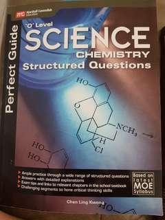 🚚 O Level Science Chemistry Structured Qns