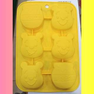 Pooh-pooh#曲奇餅模#矽膠#silicone mold for cake