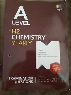🚚 A level H2 Chemistry Yearly exam qn