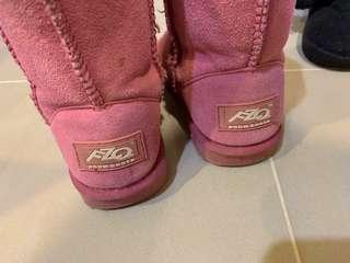 FZQ 女童雪靴32號