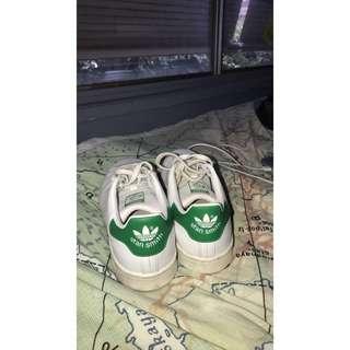 Stan Smith adidas white & green