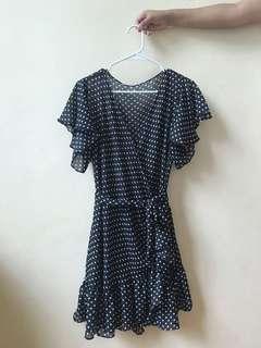 Ruffled Polka Dress