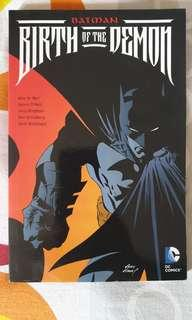 Batman Birth of the Demon
