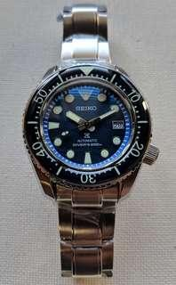 Seiko SBDX001 Marine Master 300 Upgraded Homage with Sapphire Midnight Blue Bezel