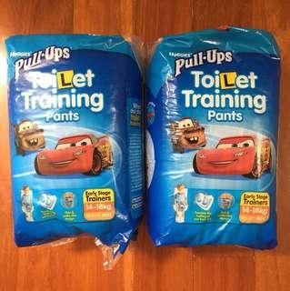 Huggies pull ups toilet training pants boys 14-18kg