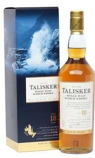 Talisker 18 Islay Single Malt Scotch Whisky