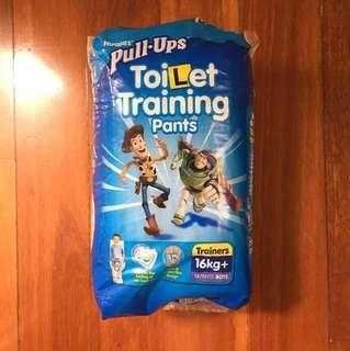 Huggies pull ups toilet training pants boys 16kg+