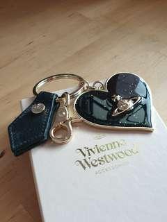 Vivienne Westwood Mirror Heart Keyring