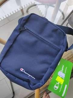 Authentic Champion Sling Bag in Navy