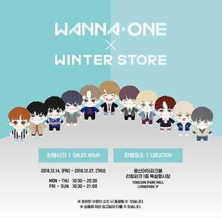 [GO] WANNA ONE winter popup store