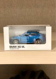 (正品) BMW 1:41 Miniature Car X6 M