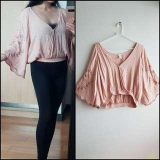 FOREVER21 - Rose Loose Blouse