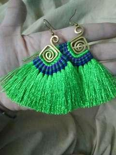 Tassle earing from thailand