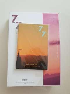 🚚 WTS UNSEALED GOT7 7 FOR 7 MAGIC HOUR VERSION AND PREORDER GIFT