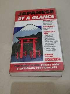 Book & Dictionary for traverlers (Japan) #MMAR18