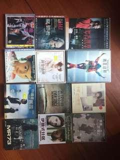 Movie dvd and vcd