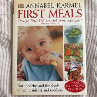 🚚 Parenting Books - Baby Meal Planning Books