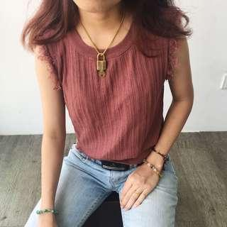 Sleeveless Vintage Top