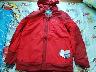 Columbia Omni-Tech Jacket Red Colour XL size