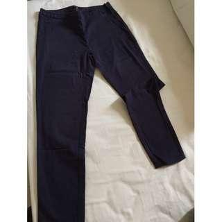 H&M navy trousers